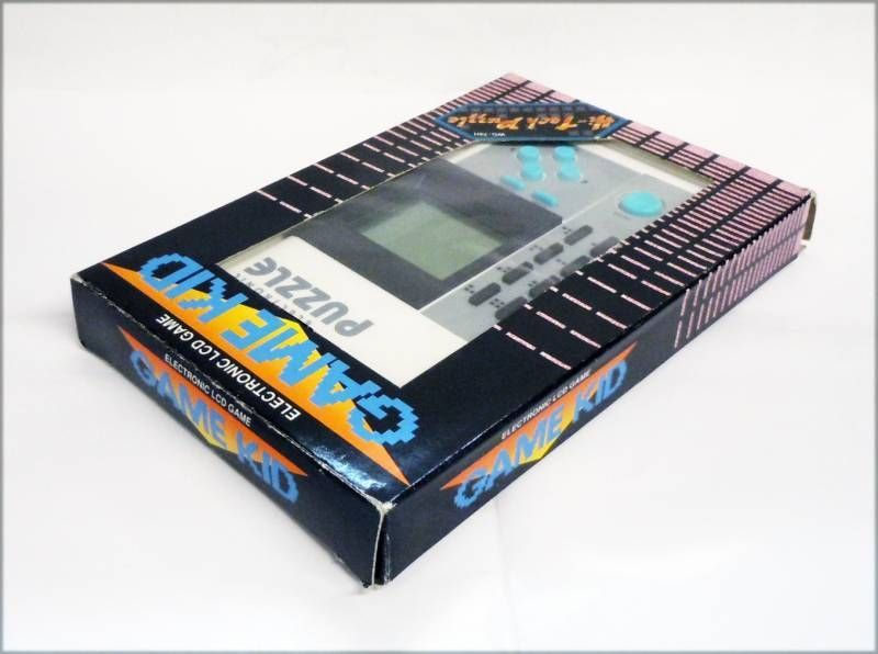 Game Kid - Handheld Game - Electronic Puzzle (mint in box)