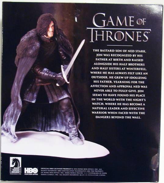 Game of Thrones - Dark Horse figure - Jon Snow