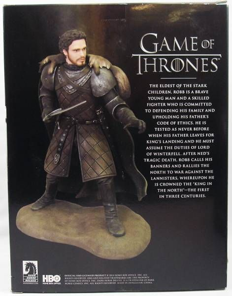 Game of Thrones - Statuette Dark Horse - Robb Stark