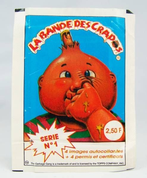 Garbage Pail Kids - Avimages Stickers Set 1988 - Collection  Series 1