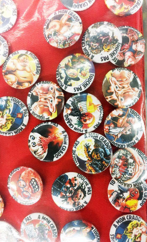 Garbage Pail Kids - Badge Button Professional Display