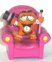 Garfield - Bully PVC Figure - Bully Garfied as Opa on sofa