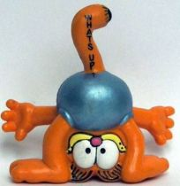Garfield - Bully PVC Figure - Garfied head between legs