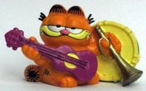 Garfield - Bully PVC Figure - Garfied musician