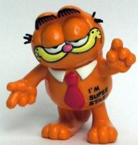 Garfield - Bully PVC Figure - Garfied with tie