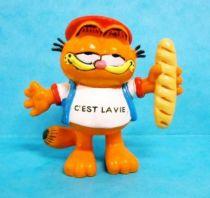 Garfield - Bully PVC Figure - Garfield as french