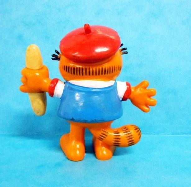 Garfield - Bully PVC Figure - Garfield as french