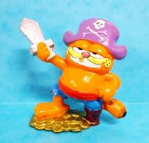 Garfield - Bully PVC Figure - Garfield as pirate