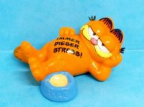 Garfield - Bully PVC Figure - Garfield with lasagne