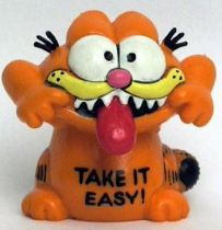 Garfield - Bully PVC Figure - Grimacing Garfied
