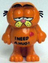 Garfield - Bully PVC Figure - Sad Garfied