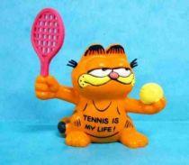 Garfield - Bully PVC Figure - Tennisman Garfied