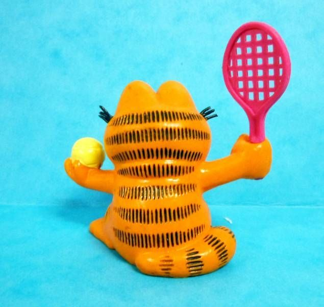 Garfield - Bully PVC Figure - Tennisman Garfied