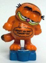 Garfield - Bully PVC Figure - Weight Garfied