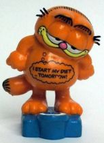 Garfield - Bully PVC Figure - Weight Garfied