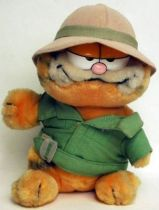 Garfield - Dakin & Co Plush - Colonial hat Garfield plush