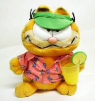 Garfield - Dakin & Co. Plush - Garfield with drink