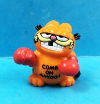 Garfield - Figurine PVC Bully - Mini-Garfield boxeur