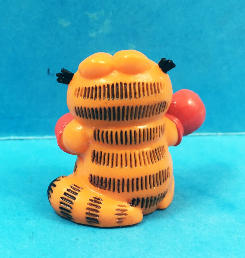 Garfield - Figurine PVC Bully - Mini-Garfield boxeur