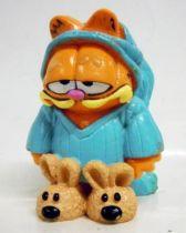 Garfield - M-D Toy PVC Figure - Sleeping dress Garfied pvc figure