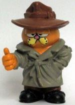 Garfield - M-D Toy PVC Figure - Trench coat Garfied