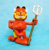 Garfield - Plastoy PVC Figure - Garfield as Devil