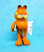 Garfield - Plastoy PVC Figure - Garfield with pillow
