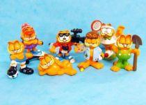 Garfield - Set of 7 mini figures