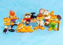Garfield - Set of 7 mini figures