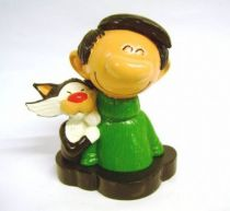 Gaston - Pixi Collector Figure - Gaston with his cat (Bust)