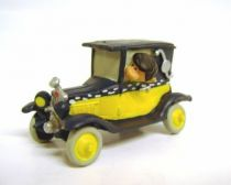 Gaston - Plastoy PVC Figure - Gaston in his car