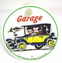 Gaston - Signalitic Panel with suction - Garage