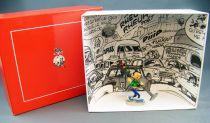 Gaston Lagaffe - Figurine de Collection Pixi - Gaston et le Feu tricolore (Ref.4768)