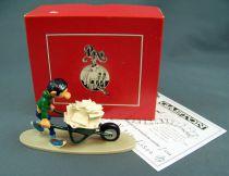 Gaston Lagaffe - Figurine de Pixi - Gaston et sa brouette de courrier (Ref.4744)