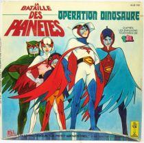 La Bataille des Planètes - Disque 45Tours Opération Dinosaure - AdesLe Petit Menestrel 1979