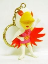 Gatchaman - Banpresto - Set of 7 Super-Deformed Figures Keychain