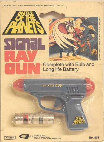 Gatchaman - Gordy - Battle of the Planets Signal Ray Gun