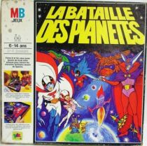 Gatchaman - MB - Battle of the Planets board game