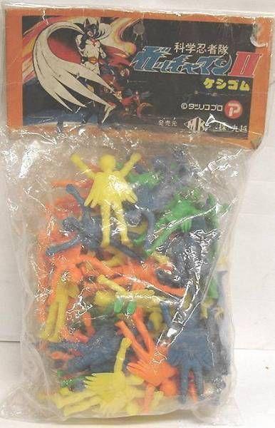 Gatchaman - mini rubber figures assortment