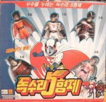 Gatchaman - Seoul Chemical - Set of 5 vinyl G Force figures
