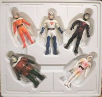 Gatchaman - Seoul Chemical - Set of 5 vinyl G Force figures
