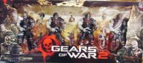 Gears of War 2 - NECA Player Select \'\'Locust Hive\'\'figures gift set