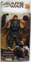 Gears of War 3 Series 2 - Dominic Santiago - NECA Player Select figure