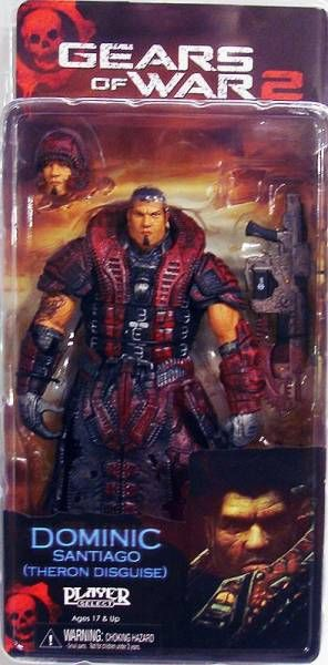 Gears of War Series 4 - Dominic Santiago (Theron disguise) - NECA Player Select figure
