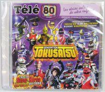 Génération Tokusatsu - CD audio Télé 80 - Génériques en versions originales remasterisées