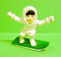 Gervais (Ice Cream) - Eskimo on a snowboard