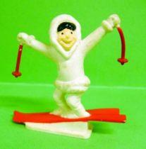 Gervais (Ice Cream) - Eskimo on ski