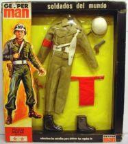 Geyper Man -  Uniforme y equipos soldados - Policia Militar - Ref 7112