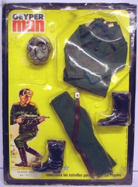 Geyper Man -  Uniforme y equipos soldados - Soldato Ruso - Ref 7109
