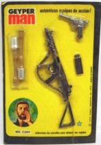 Geyper Man - Sten Submachine-Gun + Luger Pistol - Ref 7309